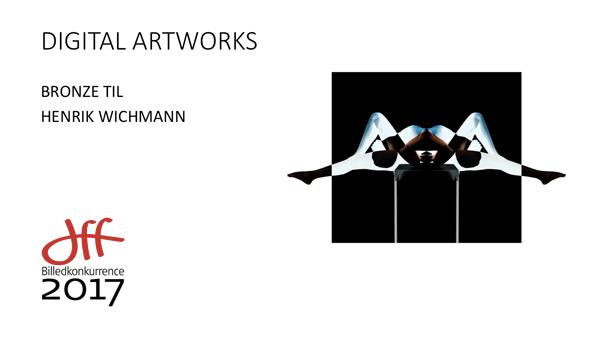 """Fotografen Wichmann Modtog Bronze for billedet fra serien """"Astral Projection"""""""